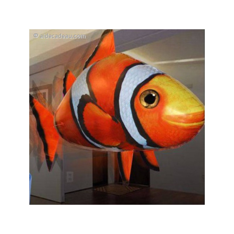 Poisson clown volant t l command for Poisson clown achat