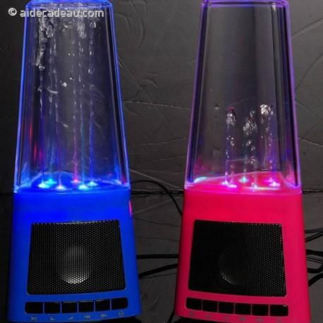 Haut-parleur LED fontaine d'eau