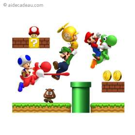 Stickers Super Mario Bross