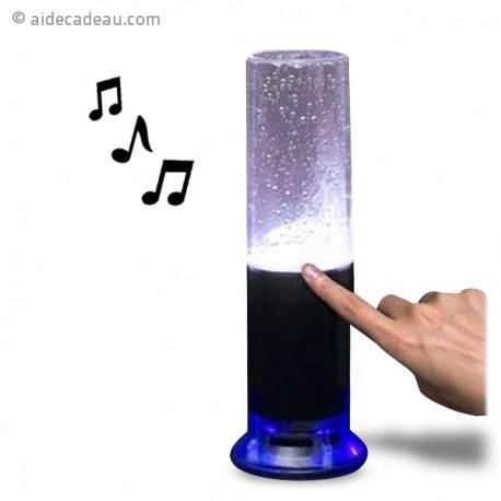 Enceinte touch fontaine d'eau musique