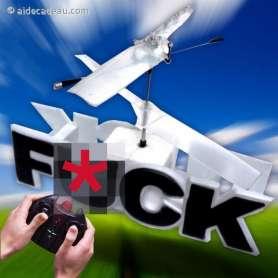 Hélicoptère FUCK télécommandé