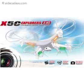 Drone X5C caméra HD 4 go
