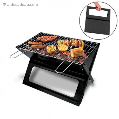 Barbecue portable pliable