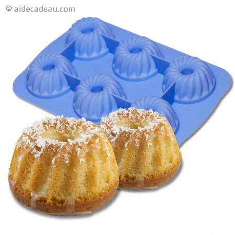 Moule à gâteau 6 cannelés