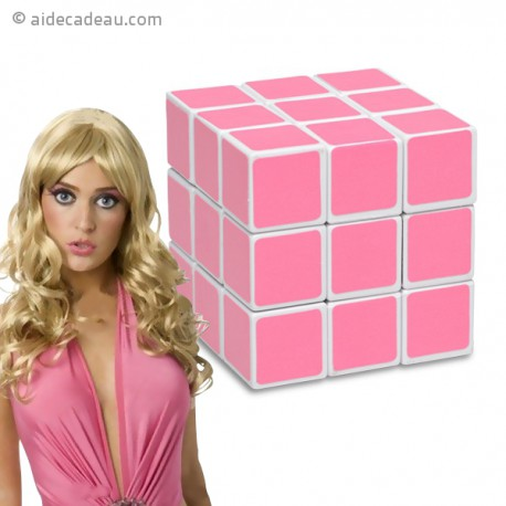Rubik's cube blondes rose