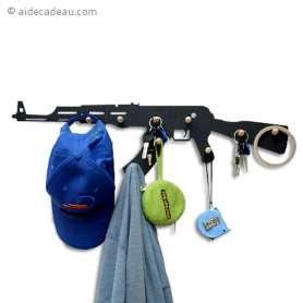 Porte manteau fusil AK47