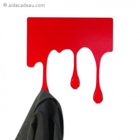 Porte-manteau peinture coulante