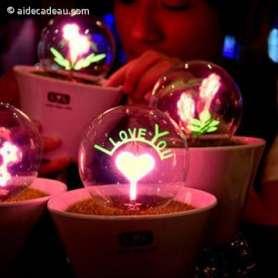 Lampe boule I love You