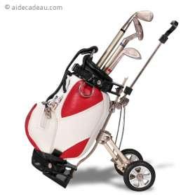 Porte-stylo sac de golf