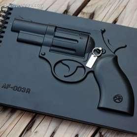 Carnet de note pistolet luxe