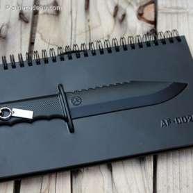 Carnet de note couteau