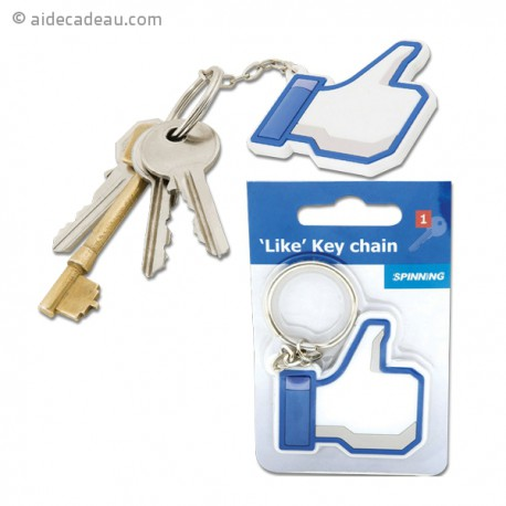 Porte-clefs « J'aime » Facebook