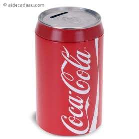 Tirelire canette coca-cola