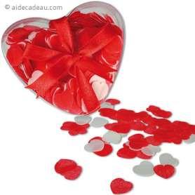 Pétales de savon en forme de coeur