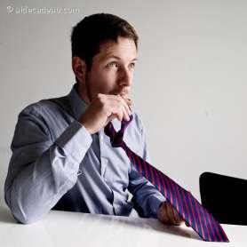 Cravate gourde pipette intégrée