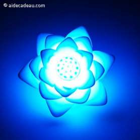 Lampe lotus LED 7 couleurs