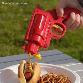 Pistolet ketchup ou mayonnaise