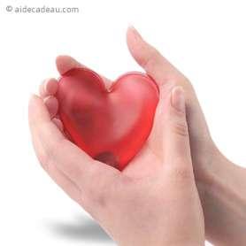 Chaufferette réutilisable coeur réchauffe main