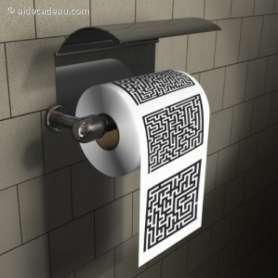 Papier toilette labyrinthe