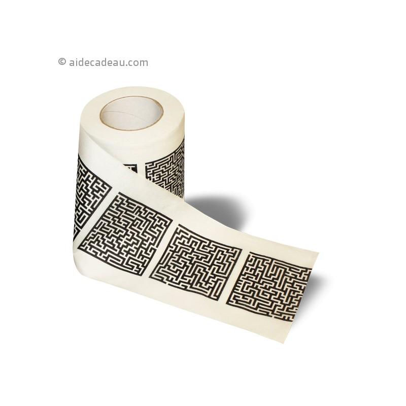 Papier Toilette Labyrinthe - Aidecadeau.Com