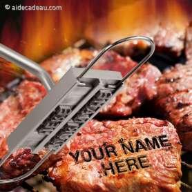 Fer à marquer les grillades et la viande