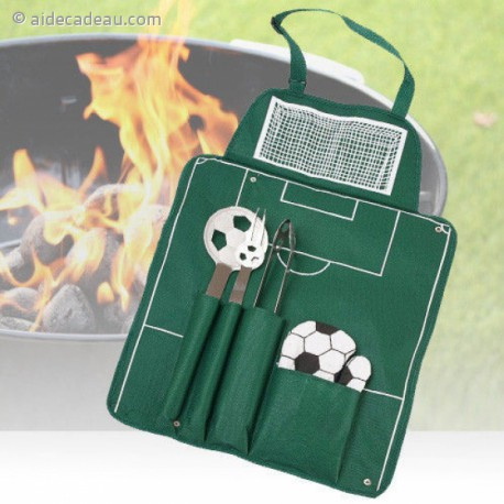 Tablier barbecue football et accessoires
