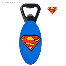 Décapsuleur Superman dos aimanté