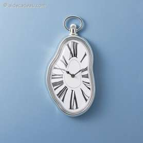 Horloge coulante Salvador Dali mural