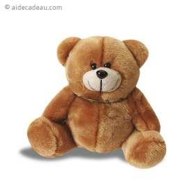 Tirelire ours en peluche marron