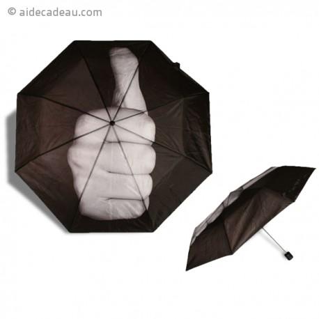 Parapluie bien joué Up pouce en l'air