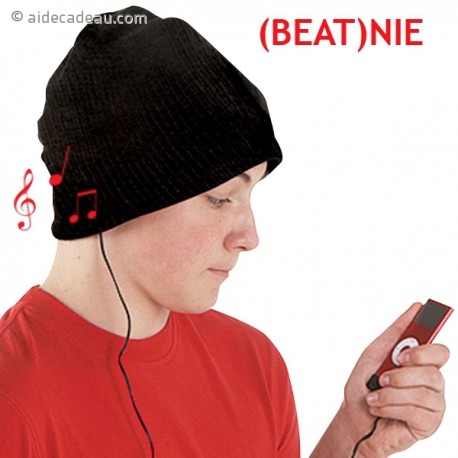 Bonnet écouteurs et microphone intégrés