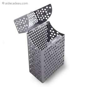 Boîte pour rangement paquet de cigarettes