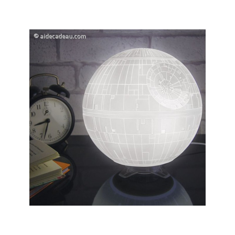 lampe veilleuse star wars usb toile de la mort. Black Bedroom Furniture Sets. Home Design Ideas