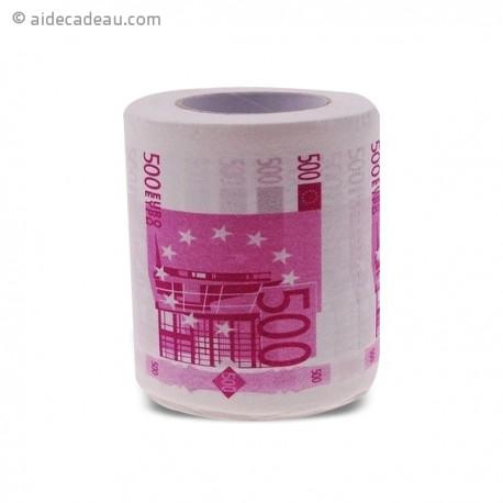 Papier toilette billet 500 euro