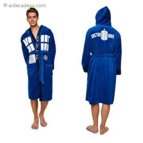 Peignoir costume Tardis Dr Who
