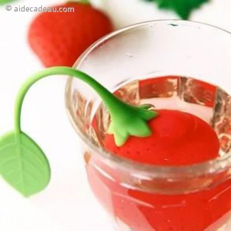 Boule à thé fraise