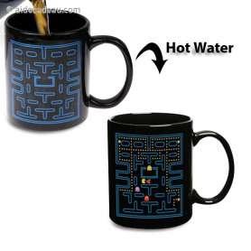 Mug thermo-réactifs pacman