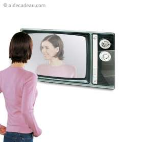 Miroir télévision années 60