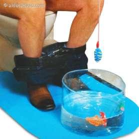 Jeu de pêche toilette WC