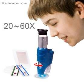 Microscope 20X à 60X