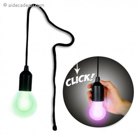 Lampe LED multicolore rétro