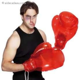 Gants de boxe gonflable