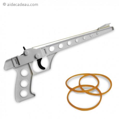 Pistolet lance élastiques