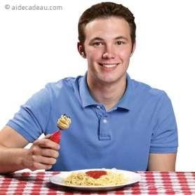 Fourchette spaghetti à tête tournante