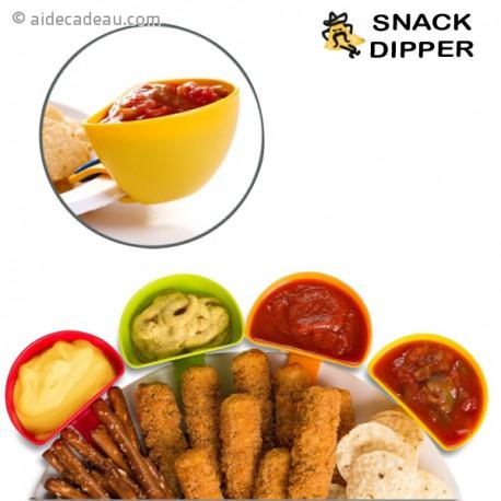 Coupelles apéro à clip pour assiette