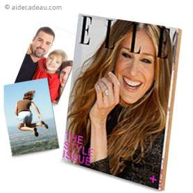 Cadre photo magazine ELLE