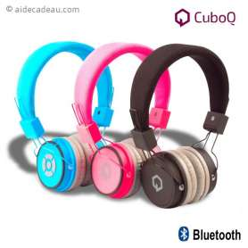 Casque audio micro bluetooth CuboQ
