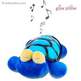 Veilleuse tortue bleue musicale projection de ciel étoilé