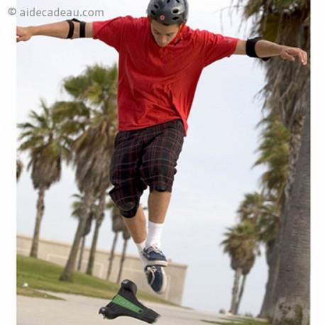 Skateboard triangulaire à 3 roues planche