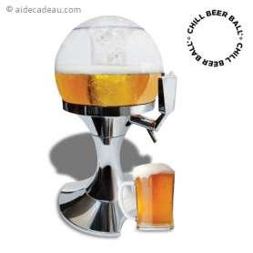Distributeur de bière en forme de ballon